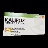 Калипоз пролонгатум (аналог Кальдиум) 750 мг (391 мг К ) табл. №30