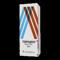 Тобрадекс (Tobradex) мазь глазная 3.5г