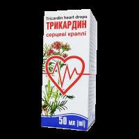 Купить Трикардин капли орал. фл. 50мл, Юнифарма, ООО (Тернофарм)