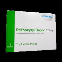 Декапептил депо лиоф. для инъекций 3,75мг №1