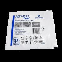 Аквасель (Aquacel Ag Extra) с серебром Экстра Гидрофайбер 10х10см 1 повязка, ConvaTec (Великобритания)  - купить со скидкой