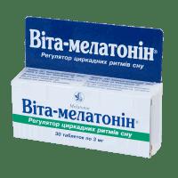 Купить Вита-мелатонин таб, N30, Киевский Витаминный Завод