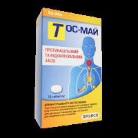 Купить Тос-Май (Tos-Mai) таблетки №16, СП ООО Сперко Украина (Украина)